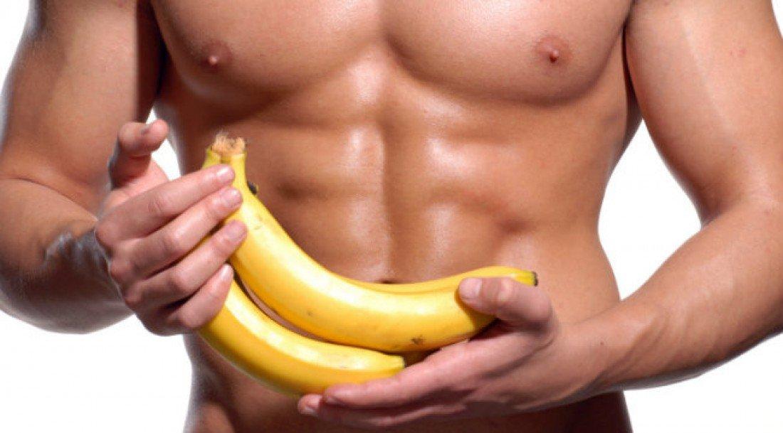 Мужчина с бананом