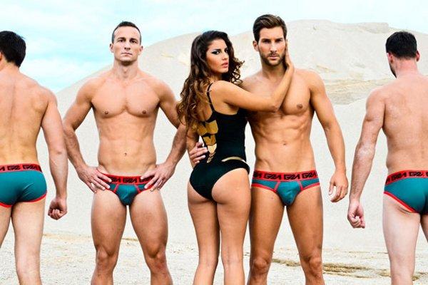 Мужчины и женщины на пляже