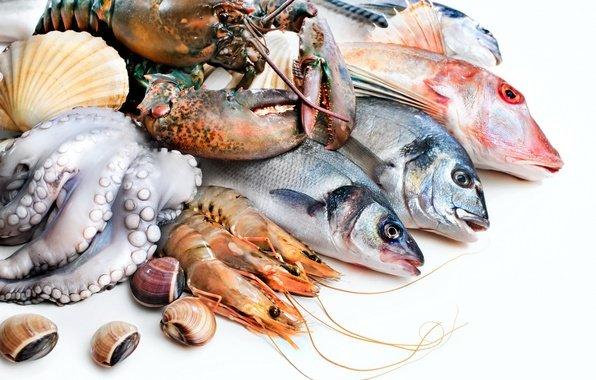 Морские продукты для роста тестостерона
